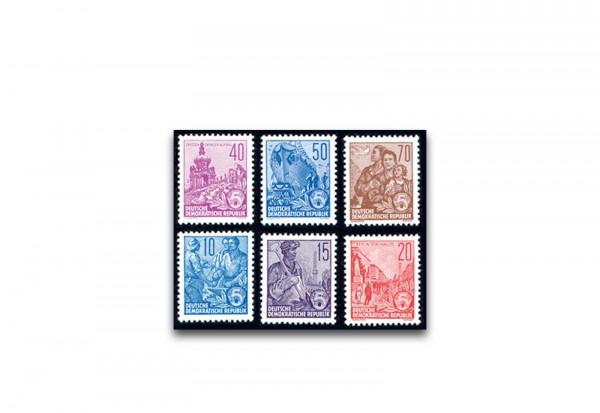 DDR Briefmarken Fünfjahresplan Mi.Nr. 453/458 postfrisch