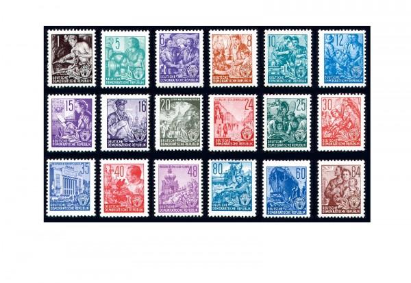 DDR Briefmarken Fünfjahresplan Michel 362/79 postfrisch