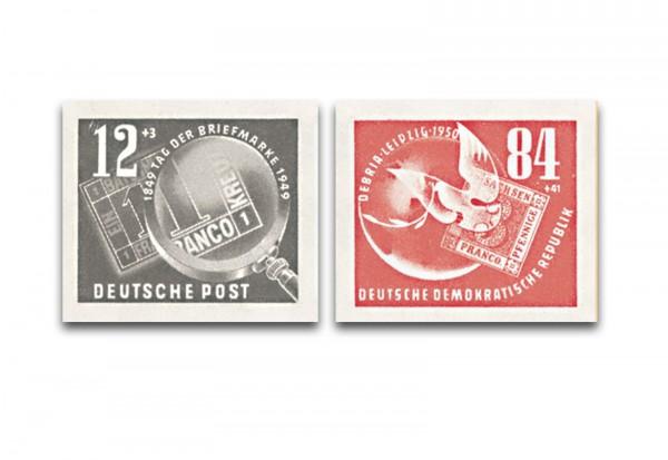 DDR Block 7 Einzelmarken 1950 Mi.Nr. 271/272 postfrisch