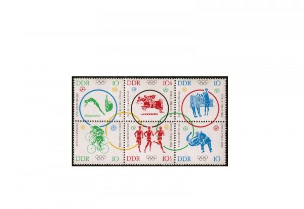 Briefmarken DDR Olympia 1964 Michel-Nr. 1039/44 postfrisch