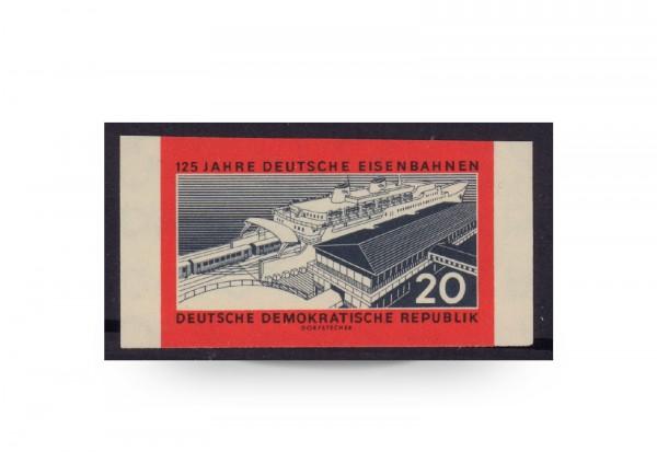 Briefmarke DDR 125 Jahre Deutsche Eisenbahn Michel-Nr. 805 B postfrisch