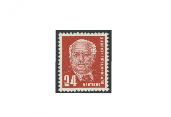 Briefmarken DDR Pieck II 1952 Michel-Nr. 324 v b YI postfrisch geprüft