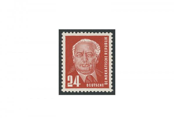 Briefmarken DDR Pieck II 1952 Michel-Nr. 324 v b X I postfrisch geprüft