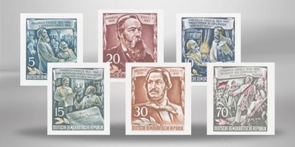 DDR Block 13 Einzelmarken Mi.Nr. 606/608 B
