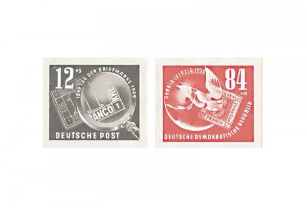 DDR Block 7 Einzelmarken 1950 Mi.Nr. 271/272 gestempelt