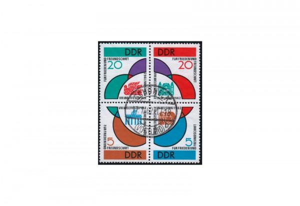 DDR Weltfestspiele Michel-Nr. 901/904 ZD VB gestempelt