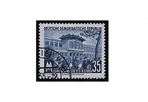 DDR Frühjahrmesse 1955 Michel Nr. 448 a YI gestempelt