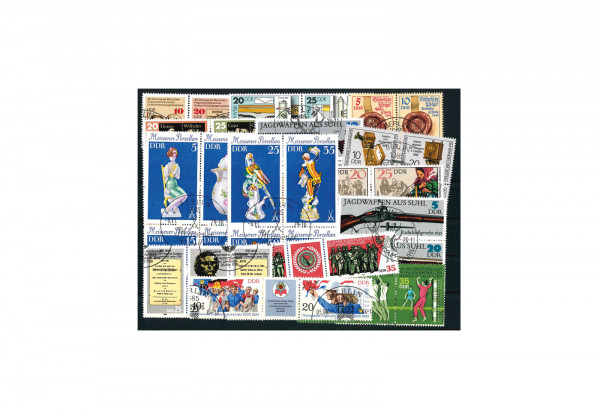 Briefmarken DDR 15 verschiedene Zusammendrucke gestempelt