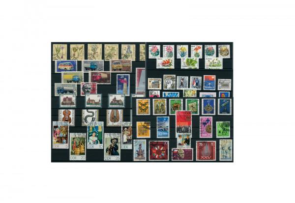 Briefmarken DDR 250 Marken auf 15 Steckkarten gestempelt