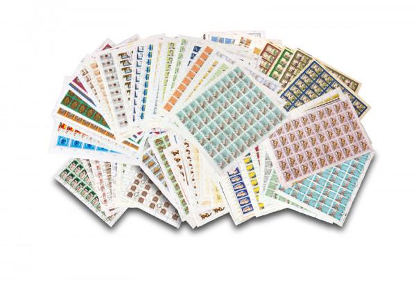 Briefmarken DDR Sondermarkenbogen gestempelt