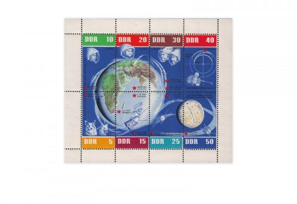 Briefmarken DDR 5 Jahre sowjetische Weltraumflüge 1962 Michel-Nr. 926-933 KB postfrisch