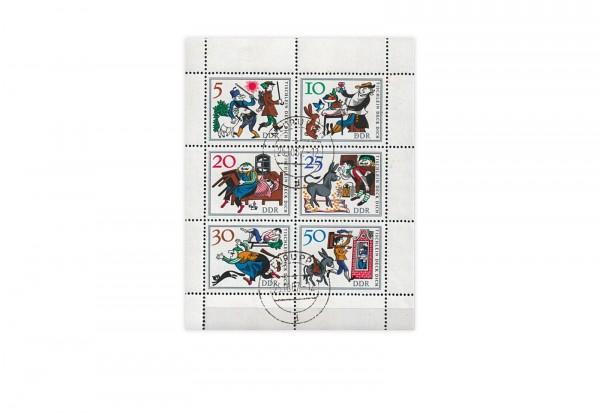 Briefmarken DDR Märchen Tischlein deck dich 1966 Michel-Nr. 1236-1241 KB gestempelt