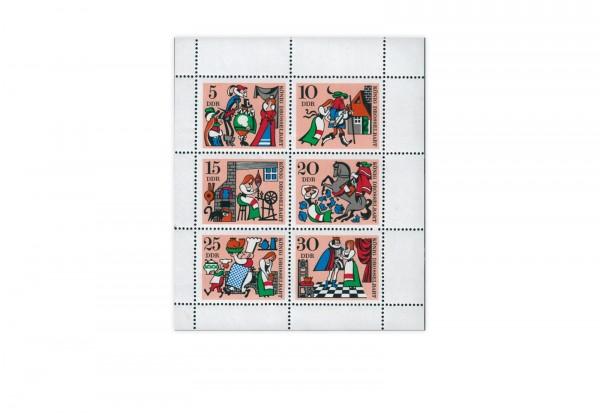 DDR Kleinbogen Mi.Nr. 1323-1328 **