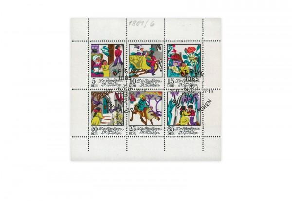 Briefmarken DDR Mächen Schneekönigin 1972 Michel-Nr. 1801-1806 gestempelt