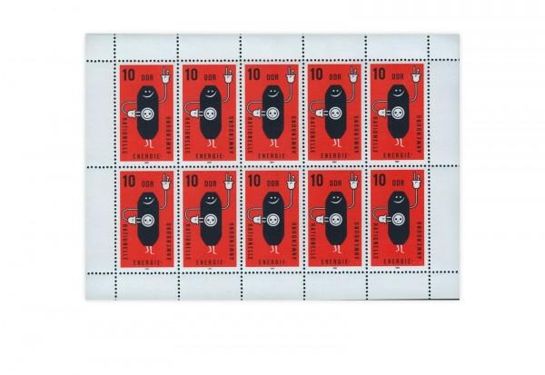 DDR Kleinbogen 1981 Michel Nr. 2601 gestempelt