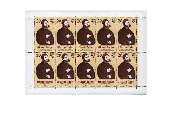 DDR Kleinbogen 1982 Michel Nr. 2755 postfrisch