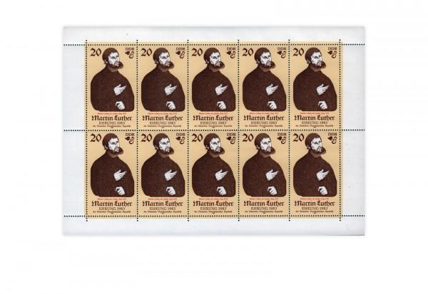 Briefmarken DDR Kleinbogen 1982 Michel-Nr. 2755 gestempelt