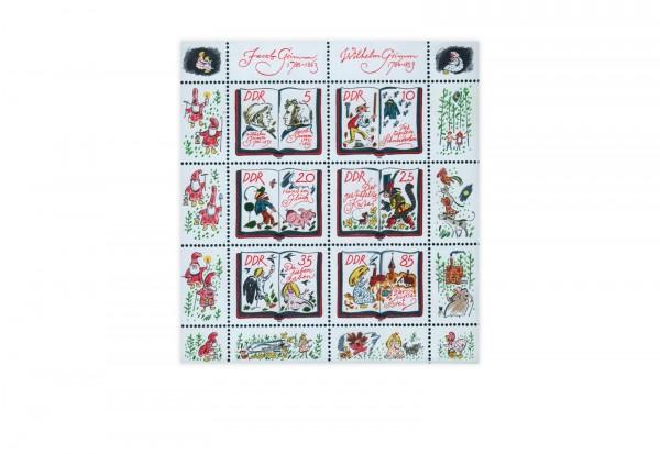 DDR Kleinbogen 1985 Michel Nr. 2987 bis 2992 postfrisch