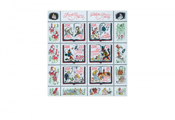 DDR Kleinbogen 1985 Michel Nr. 2987 bis 2992 gestempelt