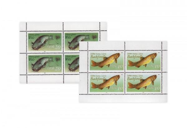 DDR Kleinbogen 1987 Michel Nr. 3096 bis 3097 I gestempelt