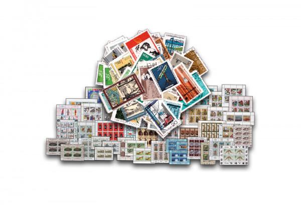 25 verschiedene Blocks und Kleinbogen DDR