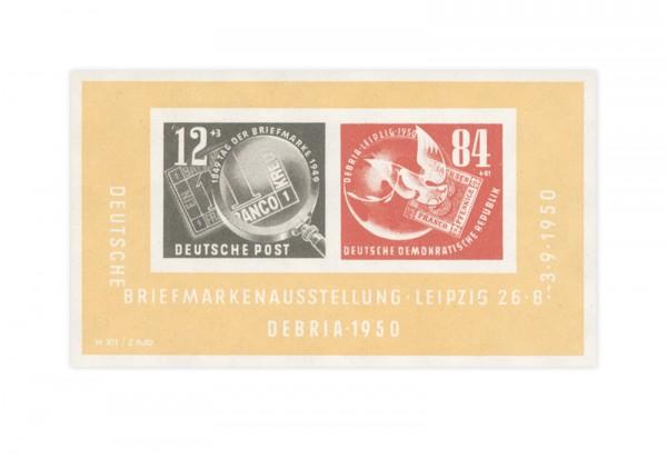 DDR Block 7 postfrisch