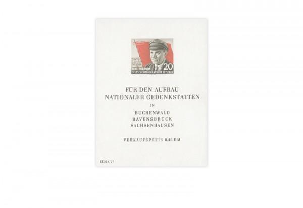 DDR Block 14 postfrisch 70. Geburtstag Thälmanns