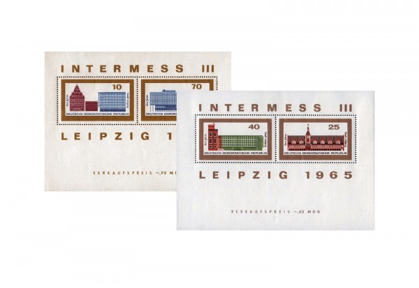 DDR Block 23-24 INTERMESS III 1965 postfrisch