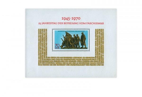 DDR Block 32 Befreiung vom Faschismus 1970 **