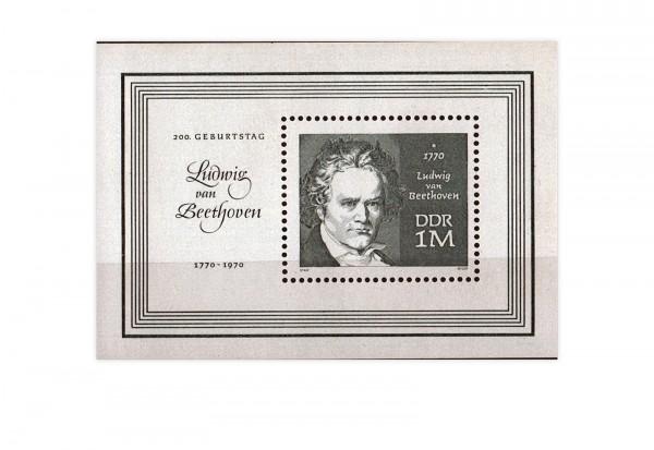 DDR Block 33 200. Geburtstag Beethoven **