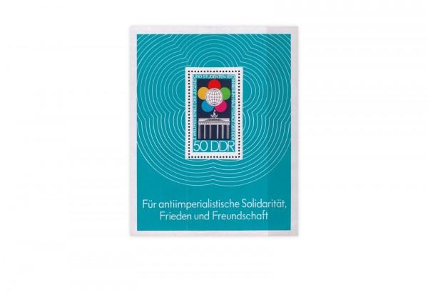 DDR Block 38 Weltfestspiele der Jugend und Studenten **