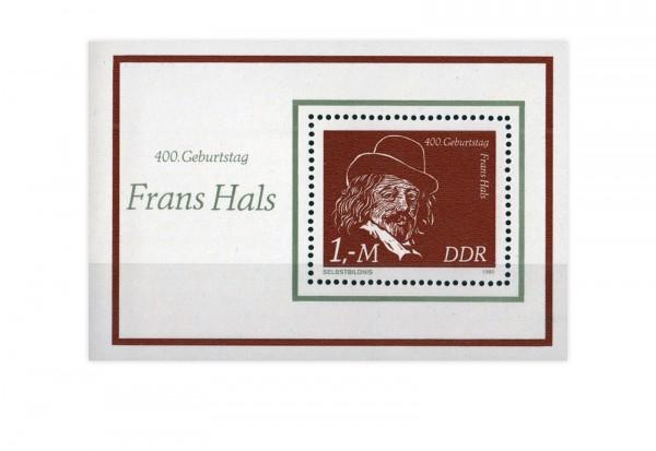 DDR Block 61 Frans Hals 1980 postfrisch