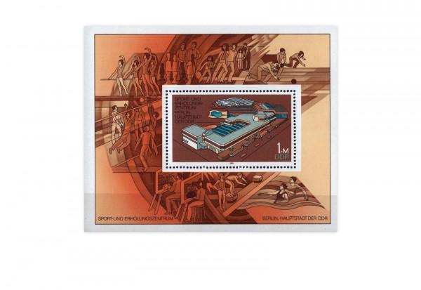 DDR Block 64 Sport und Erholungszentrum 1981 **