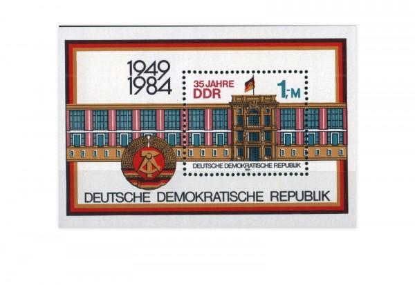 DDR Block 77 Staatsratsgebäude Berlin 1984 **