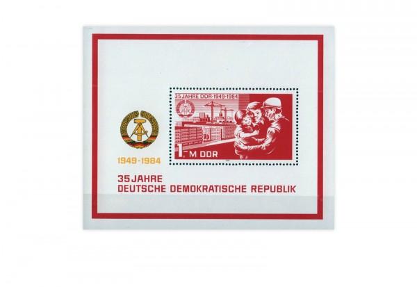 DDR Block 78 35 Jahre DDR 1984 **