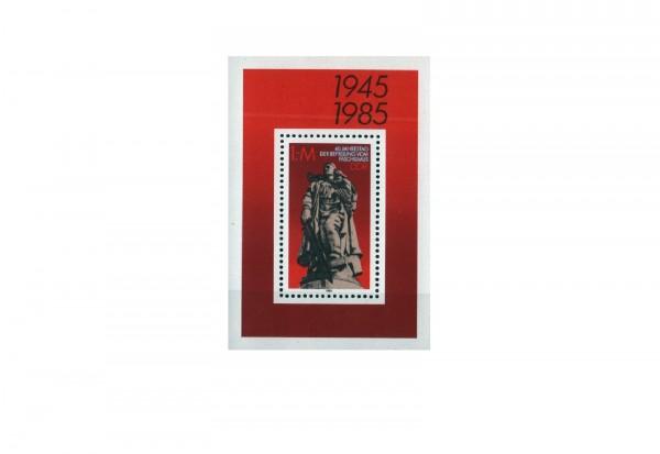 DDR Block 82 Berlin-Treptow Ehrenmal 1985 postfrisch