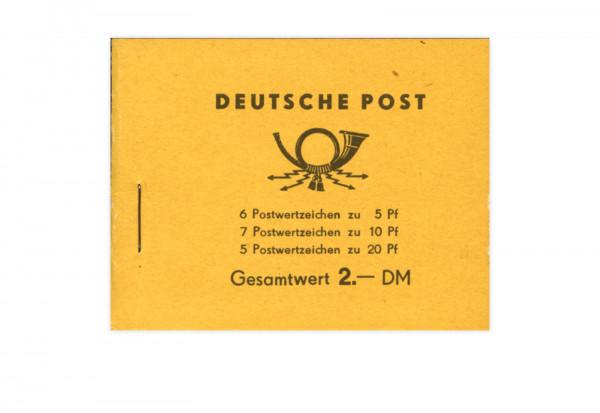 DDR Markenheftchen 1955 MH Mi.Nr. 1 postfrisch