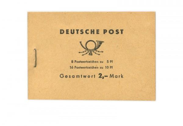 DDR MH 4 postfrisch Ulbricht 1962