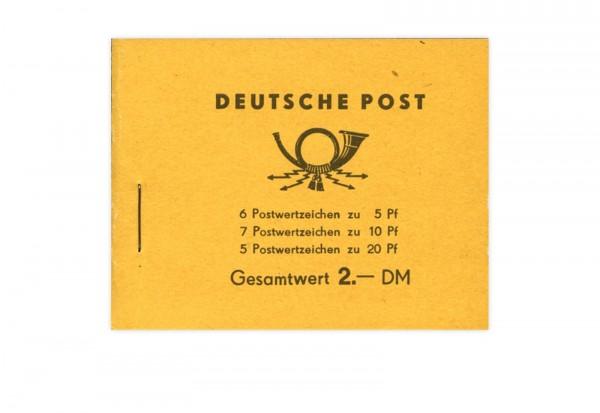 DDR Markenheftchen 1962 MH Mi.Nr. 4 Postfrisch