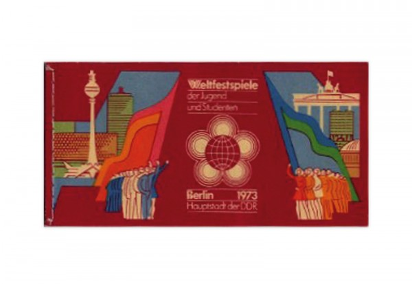 DDR Markenheftchen 1973 MH Mi.Nr. 7 postfrisch
