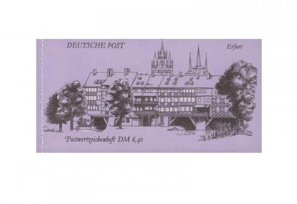 DDR Markenheftchen Bauwerke und Denkmäler 1990 MH Mi.Nr.10 postfrisch