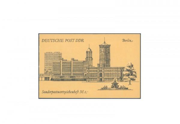Sondermarkenheft DDR Berlin 1990 SMHD 47 postfrisch