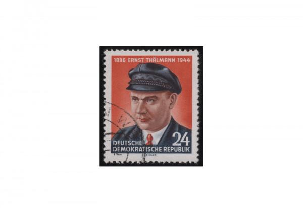 DDR Ernst Thälmann 1954 Michel-Nr. 432 Y I gestempelt mit Fotoattest BPP