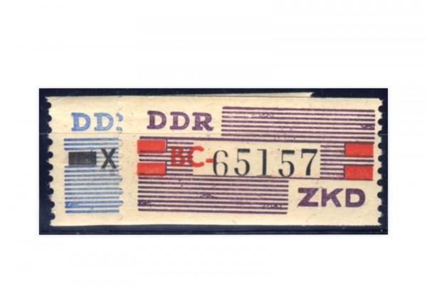 DDR Dienstmarken Dienst B III/IV gestempelt
