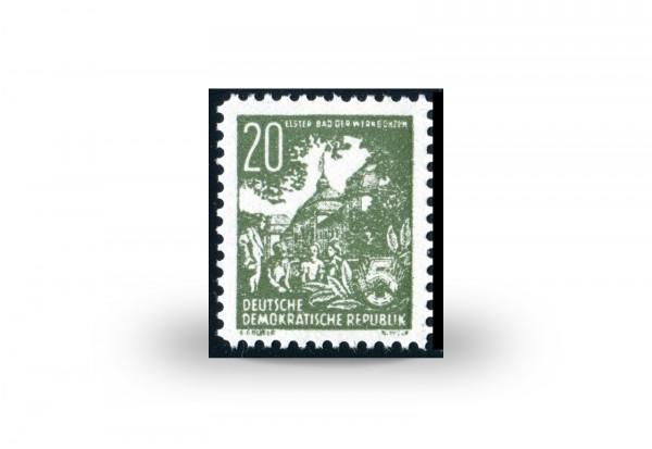 Briefmarke DDR Bad der Werkbonzen Michel-Nr. 10 postfrisch und geprüft