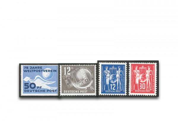 DDR Jahrgang 1949 Mi.Nr. 242-245 **