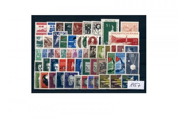 DDR Briefmarken Jahrgang 1957 postfrisch