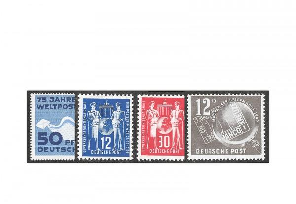 DDR Jahrgang 1949 Mi.Nr. 242-245 gestempelt