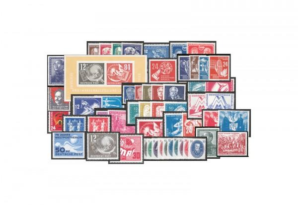 DDR 1949-1951 postfrisch im SET