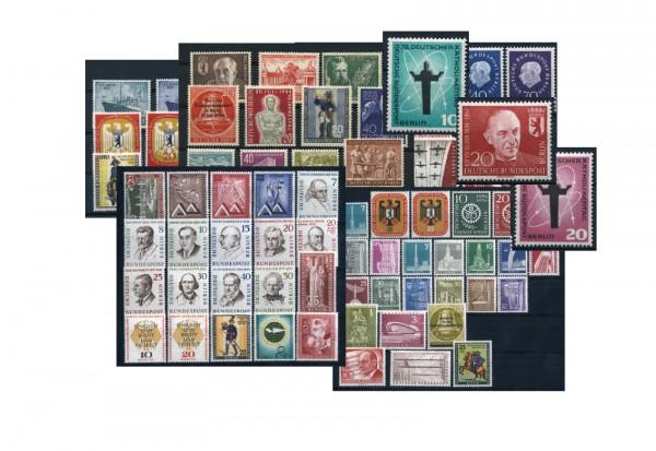 Berlin Jahrgänge 1954-1959 komplett Michel Nr. 115-190 postfrisch